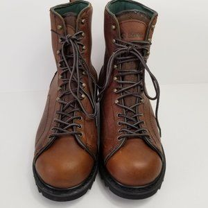 Guide Gear Insulated Lace Up Boots Leather Uppers